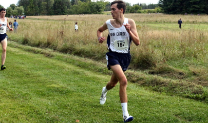 The Blue Streaks Cross Country team is led by sophomore Jamie Dailey.