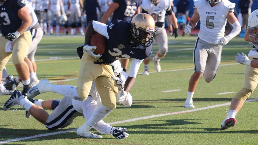 Blue Streaks beat undefeated Pioneers, move to No. 9 in the country