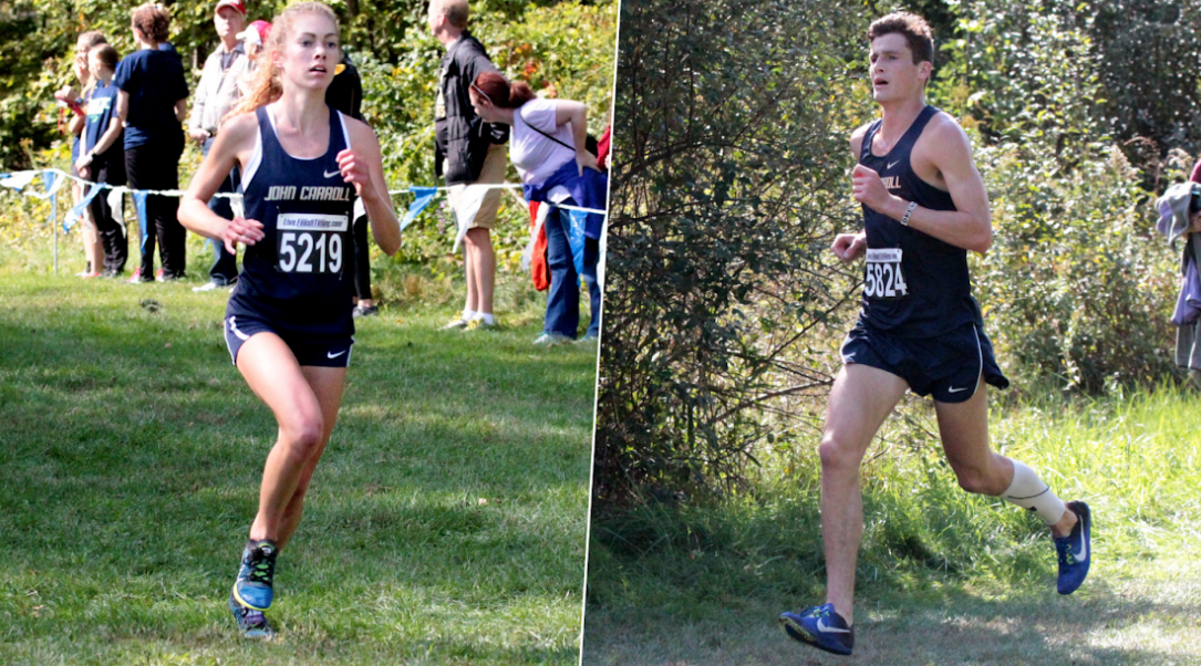 Freshmen Cameron Bujaucius and Ian Pierson led the way with impressive outings at the All-Ohio Championships in Norton.