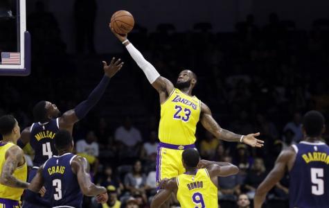 LA-Bron makes his home Lakers debut