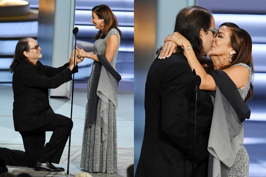 Director Steals The Emmys With a Proposal