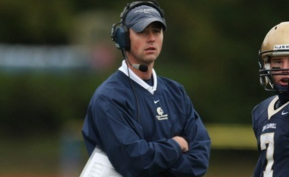 Tom Arth as head coach of John Carroll University (JCU Sports Information)