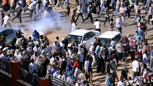 Protests in Sudan target President al-Bashir