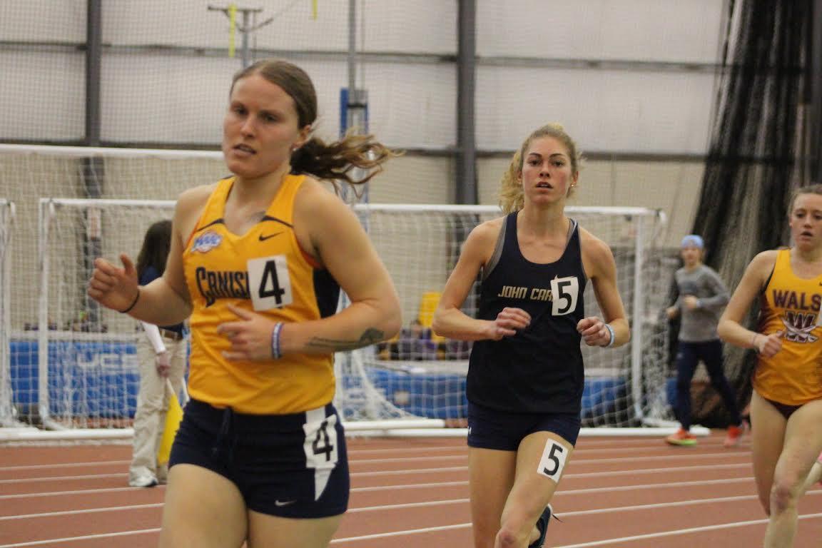Cameron Bujaucius running