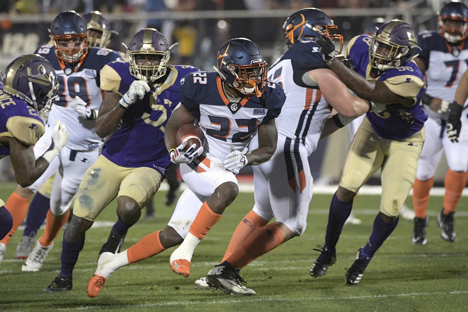 The AAF kicked-off their league debut on Feb. 9