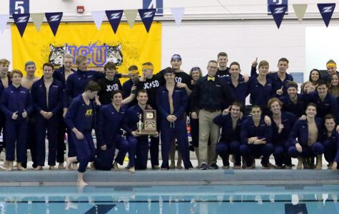 Three-peat for the JCU men's swimming and diving in the OAC Championships