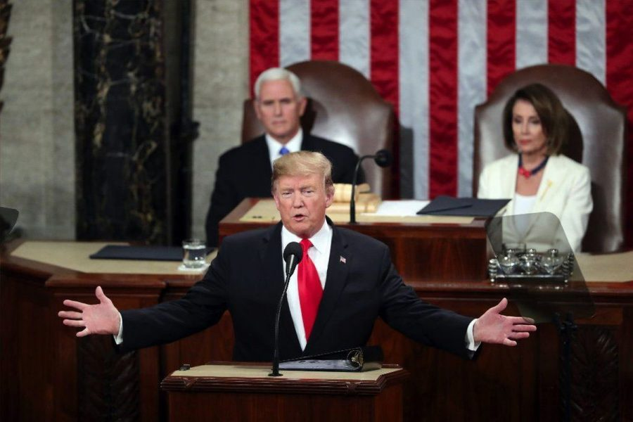 Trump delivers State of the Union address to Congress