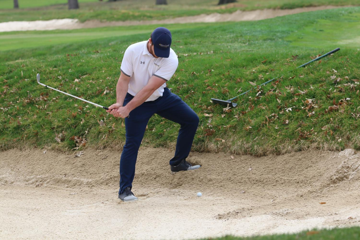 The men's golf team competed for the first time in two weeks at their own Poppa Flowers Invitational this past Monday.
