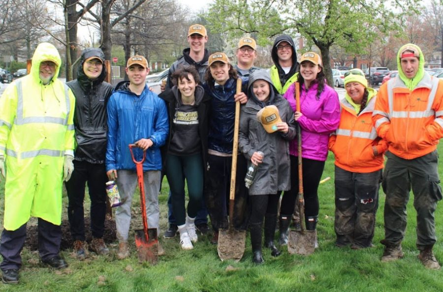 1,000th tree planted on campus for Arbor Day and continued sustainability