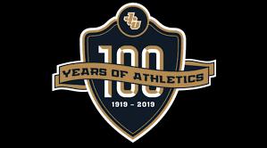 John Carroll University's official logo of the 100 Years of Athletics