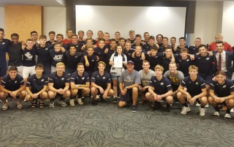 "Men's Soccer team adds a ""team buddy"" for the 2019 season"