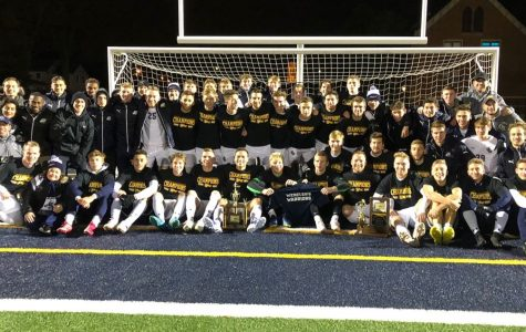 Men's Soccer becomes back-to-back OAC Champs
