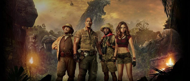 """Jumanji: The Next Level"" is set to be released on Friday, Dec. 13. 2019. (Photo from Flickr)"