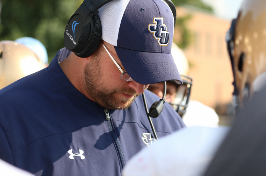John Carroll offensive coordinator Jeff Fink resigns on Tuesday