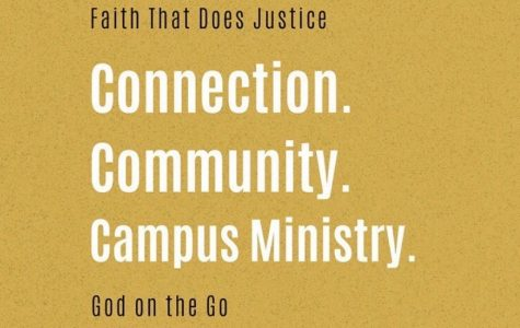 "Campus Ministry offers ""God on the Go"""