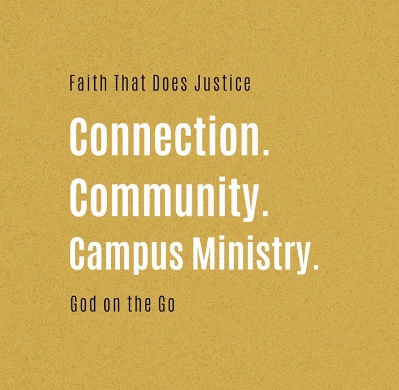 Campus+Ministry+offers+%E2%80%9CGod+on+the+Go%E2%80%9D