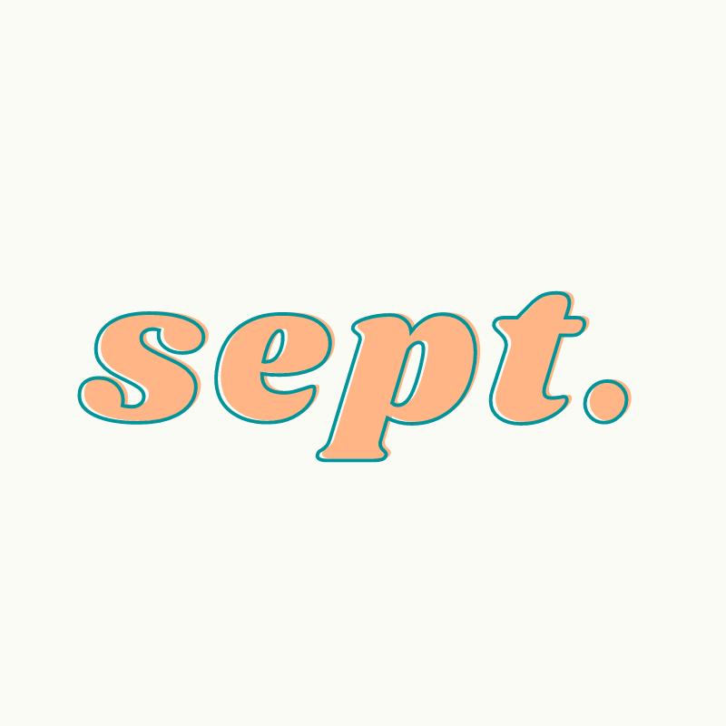 September curated playlist