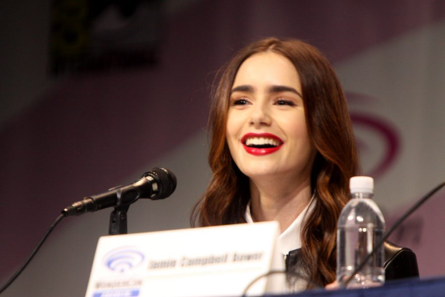 Lily Collins is a Chicago marketing exec in Netflix