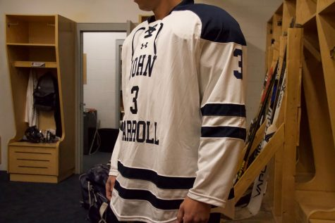 John Carroll Club Hockey unveiled new uniforms last week.
