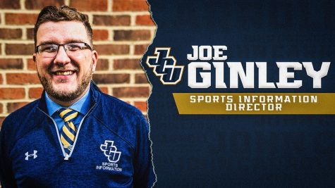 Joe Ginley was hired as Sports Information Director on Friday, Oct. 16.