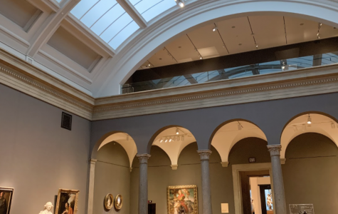 The inside of the Cleveland Museum of Art in February just a few short weeks before COVID-19 changed how the museum welcomes the community safely.