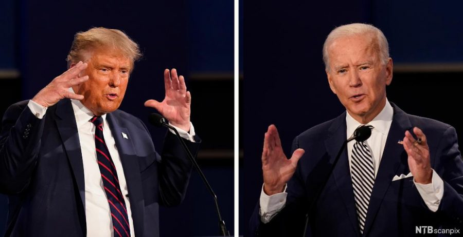 President Donald Trump and Former Vice President Joe Biden will be on the ballot for Nov. 3.