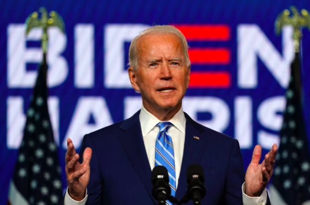 Democratic+presidential+candidate+former+Vice+President+Joe+Biden+speaks+Wednesday%2C+Nov.+4%2C+2020%2C+in+Wilmington%2C+Del.+