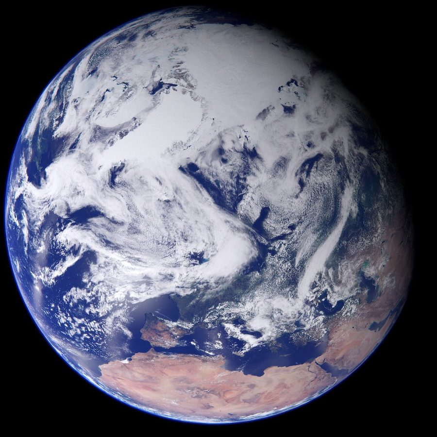 Earth by Kevin M. Gill is licensed under CC BY 2.0