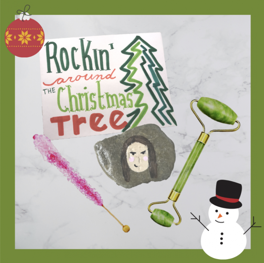 Skin care is everything and most recently, a certain rock roller has been used as a top skincare tool. Use this idea that mixes hand painted crafts and skincare routines into the perfect gift.