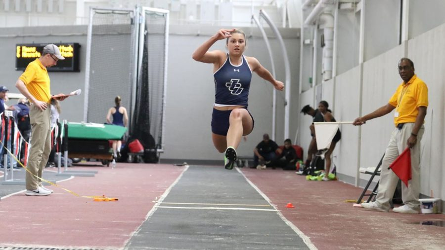 JCU women run, jump and hurdle over competition in first track meet