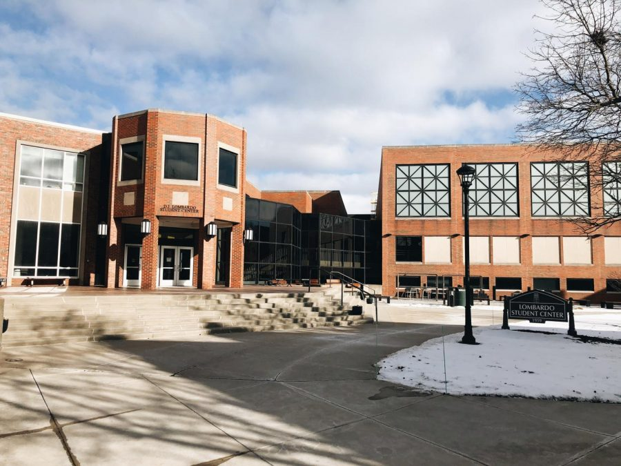 Lombardo Student Center is home to the many working parts of the university. It is where students eat, work out, purchase textbooks and is full of various offices. The Carroll News, ResLife, JCU PD and WJCU are all neighbors in the student center. Do you know where those are all located?