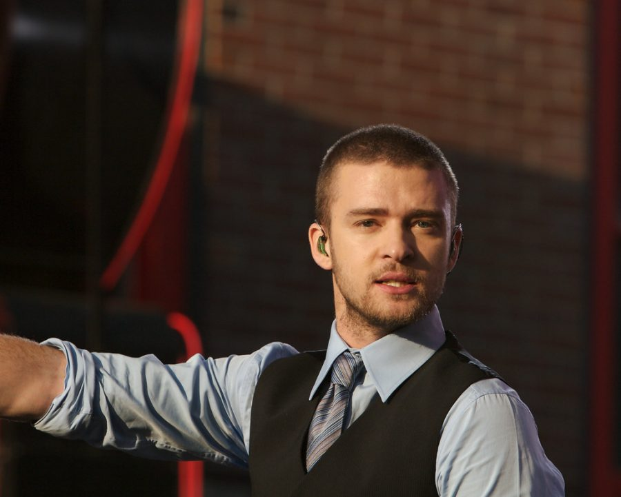 Justin Timberlake on Beale St. (Creative Commons)