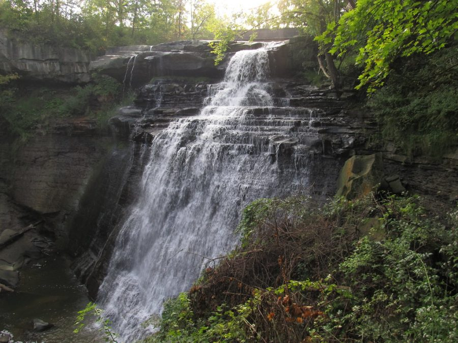 Brandywine Falls in the summer, Cuyahoga Valley National Park, Ohio
