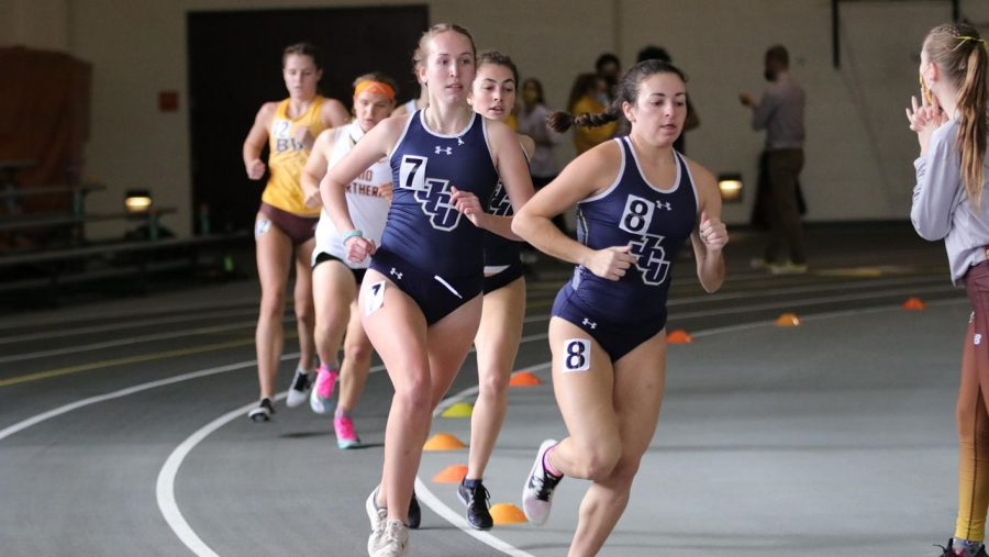 The Blue Streaks compete at Ohio Northern on Jan. 29