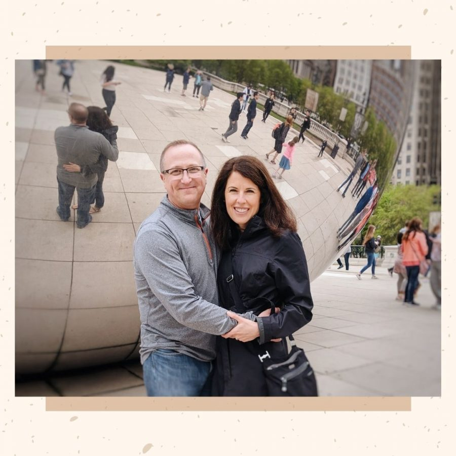 Renee and Tim Laube (pictured above) visiting Chicago, Illinois.