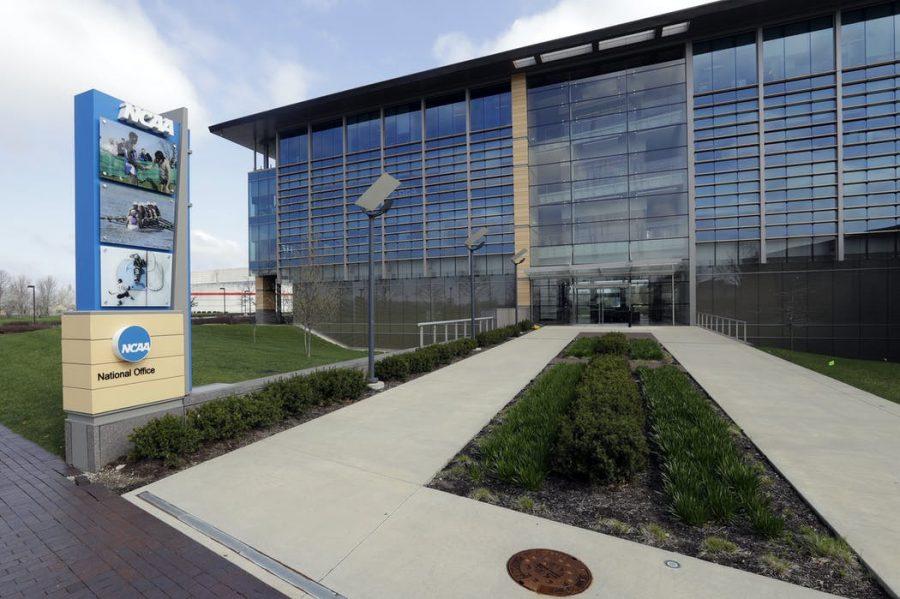 NCAA+headquarters+in+Indianapolis.