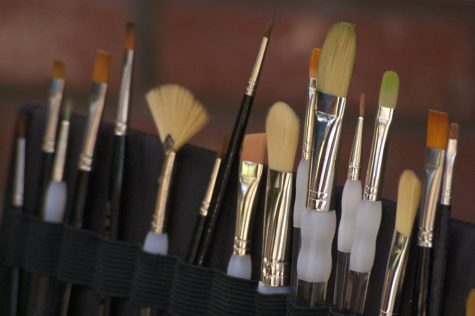"""Paint Brushes Close-Up"" Licensed under Creative Commons"