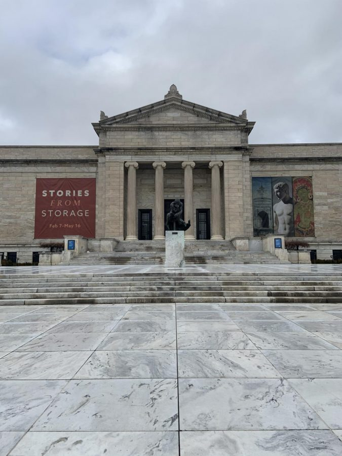 The Cleveland Museum of Art is a JCU student must-see.  (Photo by Aiden Keenan).