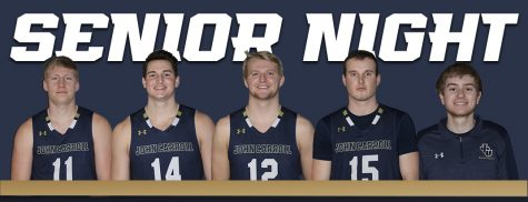 From left to right: Corbin Anthony, Emil Hess, Luke Hippler, Jackson Sartain and Ryan Hite