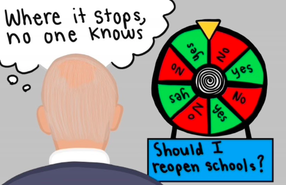 Cartoon courtesy of Corinne McDevitt '23