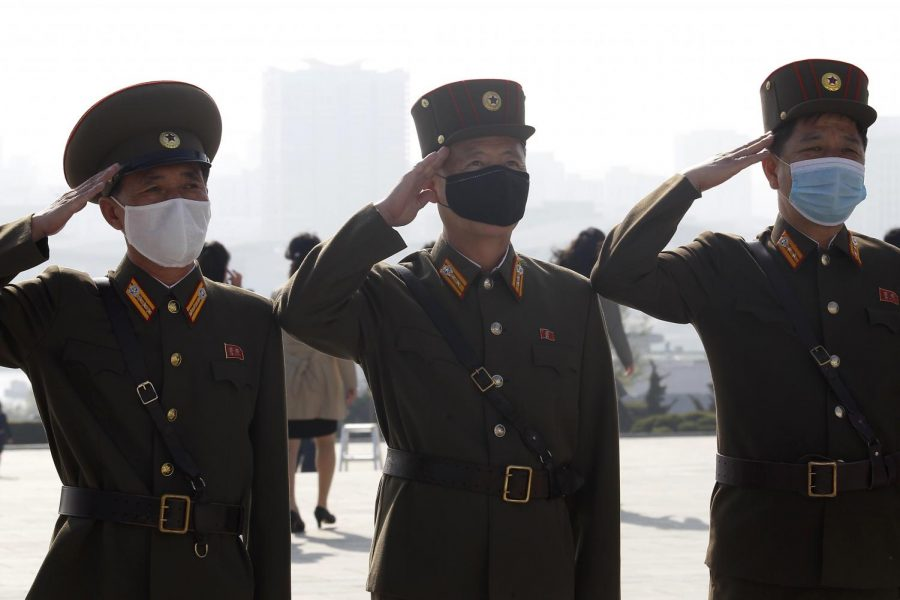 North+Korean+army+officers+visit+the+Mansu+Hill+on+the+occasion+of+the+Day+of+the+Sun%2C+the+birth+anniversary+of+late+leader+Kim+Il+Sung%2C+in+Pyongyang%2C+North+Korea+Thursday%2C+April+15%2C+2021.+