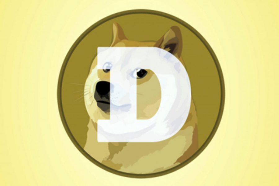 """This mobile phone app screen shot shows the logo for Dogecoin, in New York, Tuesday, April 20, 2021. Dogecoin, the digital currency advertised as the one """"favored by Shiba Inus worldwide,"""" is having its day. Fans of the cryptocurrency are touting April 20, long an unofficial holiday for marijuana devotees, as """"Doge Day"""" and imploring each other to get its value up to $1."""