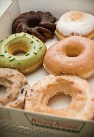 Krispy Kreme is offering free donuts to customers who show their vaccination card.
