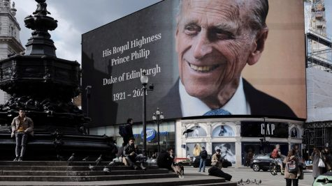 Prince Philip death announcement.