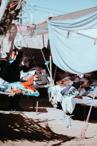 Fast fashion companies like SHEIN, H&M and Forever 21 are all the rage with college students - and they are harming the environment. Photo courtesy of Unsplash.