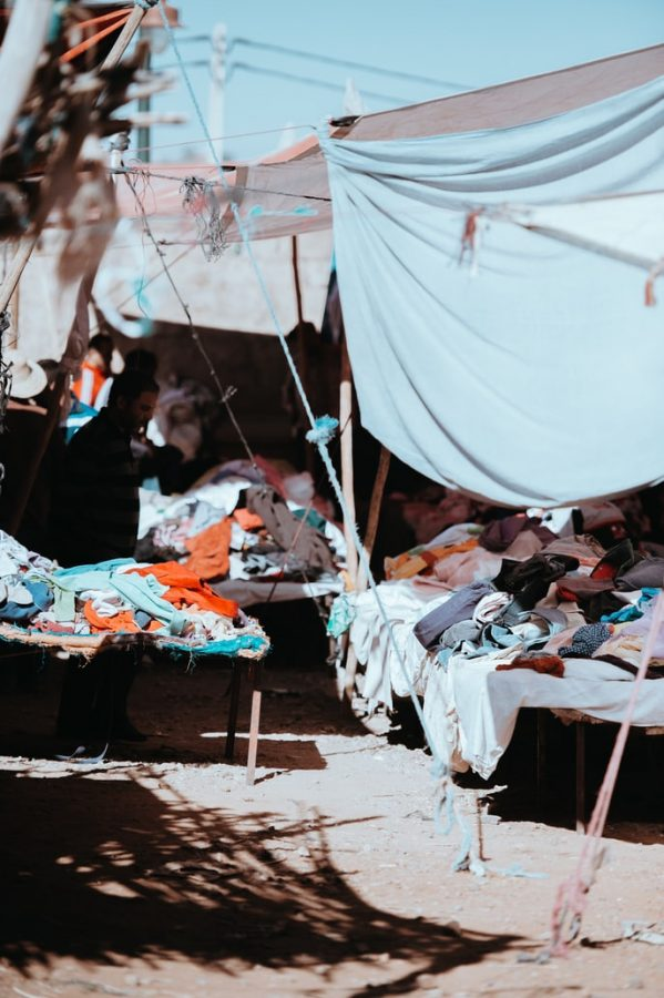 Fast+fashion+companies+like+SHEIN%2C+H%26M+and+Forever+21+are+all+the+rage+with+college+students+-+and+they+are+harming+the+environment.+Photo+courtesy+of+Unsplash.