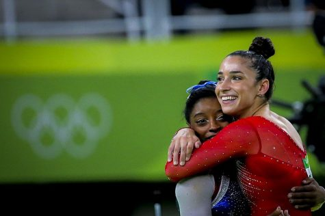 US Womens National gymnasts Simone Biles (left) and Aly Raisman (right) were among the victims who testified against Larry Nassar. Photo courtesy of Wikimedia Commons.