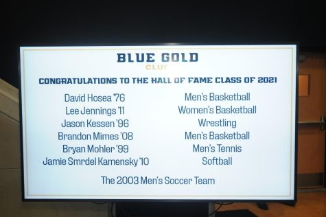 List of the 2021 John Carroll University Athletics Hall of Fame Class.