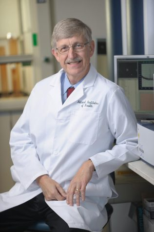 Dr. Francis S. Collins (Photo courtesy of the National Institutes of Health website).