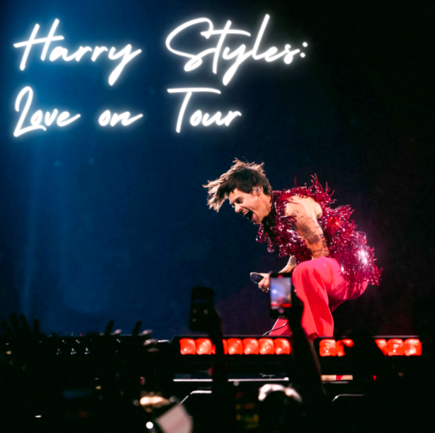 Harry Styles performed his Love on Tour show for adoring fans at Rocket Mortgage Field House on Oct. 18. in Cleveland, Ohio. Read Lauren Keeps account of the concert.
